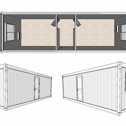 Occasion bureau modulaire Courant Constructeur on
